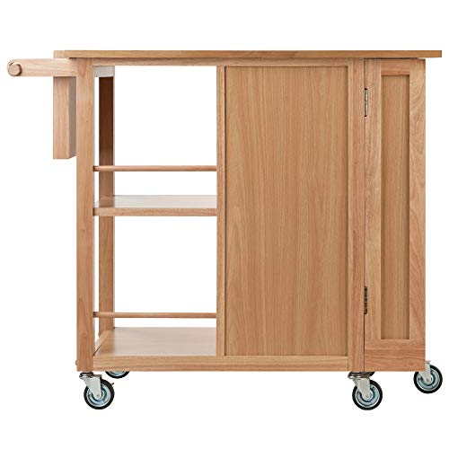 Winsome Douglas Cart Kitchen Natural 0 3