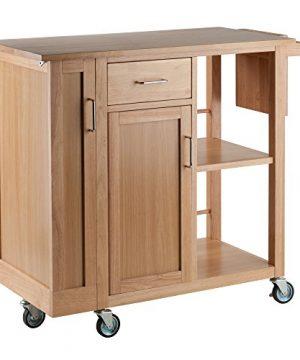 Winsome Douglas Cart Kitchen Natural 0 300x360