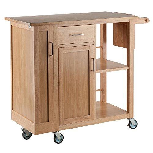 Winsome Douglas Cart Kitchen Natural 0