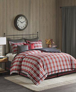 Woolrich Williamsport Plaid Comforter Set Red Queen 0 0 300x360
