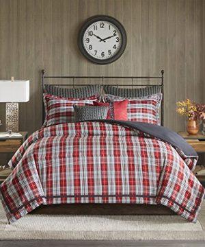 Woolrich Williamsport Plaid Comforter Set Red Queen 0 1 300x360
