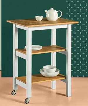 Zinus Becky Farmhouse Kitchen Cart 0 300x360