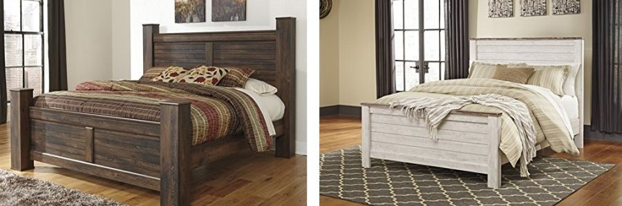 farmhouse bed frames