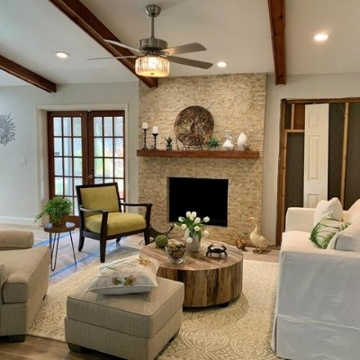 farmhouse living room 1