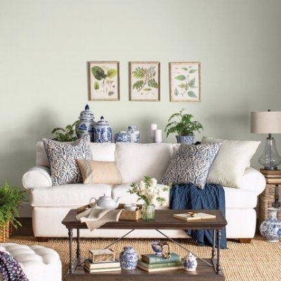 rustic living room farmhouse 20
