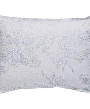 Amazon Brand Stone Beam Farmhouse Distressed Seersucker Duvet Cover Set Full Queen White And Blue 0 2 300x360