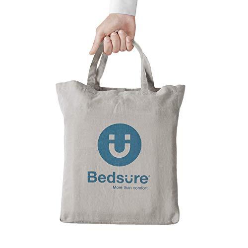 Bedsure 5545 Linen Cotton Duvet Cover Set Twin Size Greige Soft Breathable Comforter Cover Set 2 Piece Lightweight Bedding Sets Idea For Summer 0 3