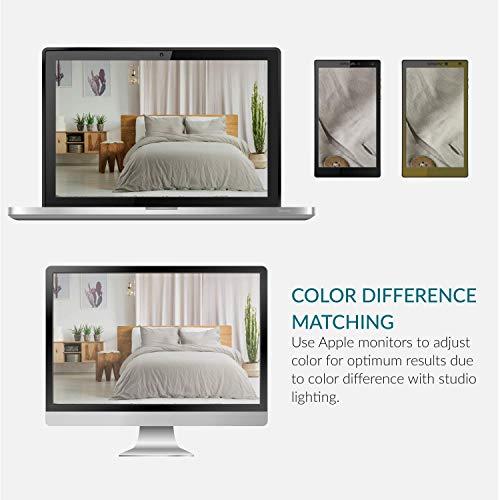 Bedsure 5545 Linen Cotton Duvet Cover Set Twin Size Greige Soft Breathable Comforter Cover Set 2 Piece Lightweight Bedding Sets Idea For Summer 0 5