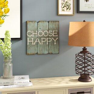 Choose+Happy+Wood+Wall+Décor