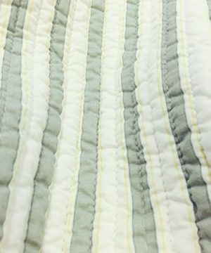 Cozy Line Home Fashions Sienna Green Yellow Blue Plaid Striped Patchwork 100 Cotton Reversible Coverlet Bedspread Quilt Bedding Set For Women MenGreen Patchwork Twin 2 Piece 0 2 300x360