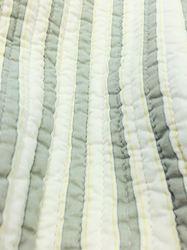 Cozy Line Home Fashions Sienna Green Yellow Blue Plaid Striped Patchwork 100 Cotton Reversible Coverlet Bedspread Quilt Bedding Set For Women MenGreen Patchwork Twin 2 Piece 0 2