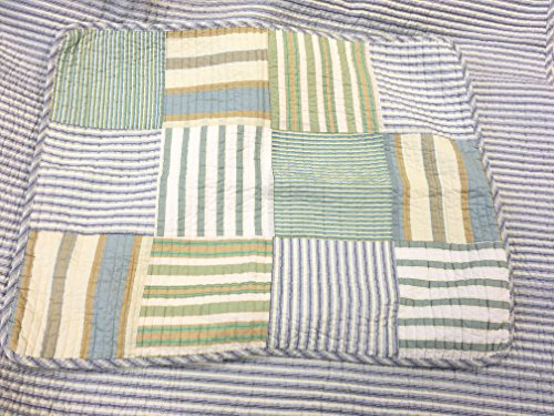Cozy Line Home Fashions Sienna Green Yellow Blue Plaid Striped Patchwork 100 Cotton Reversible Coverlet Bedspread Quilt Bedding Set For Women MenGreen Patchwork Twin 2 Piece 0 3