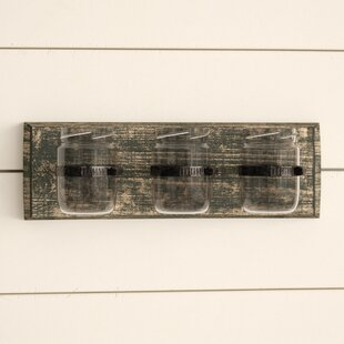 Elizondo+Three+Glass+Holder+Wall+Décor