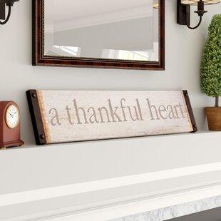 Flippo+Thankful+Heart+Wall+Décor