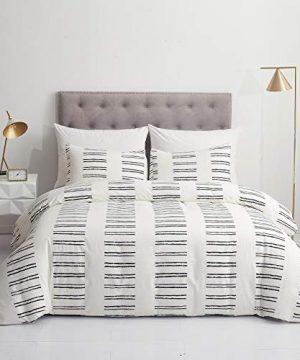 GETIANN Soft Bedding Duvet Cover Set Lightweight Microfiber Queen Comforter Cover With 2 Pillow Shams Hotel Quality Road FullQueen 0 300x360