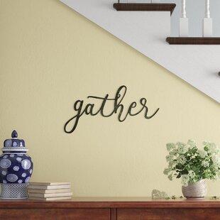 Gather+Script+Wall+Décor