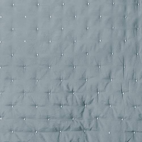 Great Bay Home 3 Piece Dot Stitch Quilt Set With Shams Stormy Sea Dot King Quilt Set All Season Bedspread Quilt Set Athena Collection King Stormy Sea 0 5