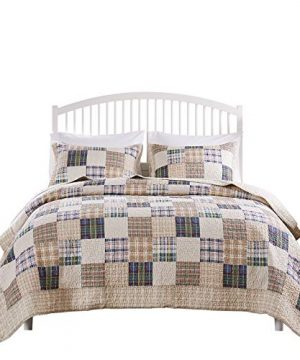 Greenland Home 2 Piece Oxford Quilt Set Twin Multicolor 0 2 300x360