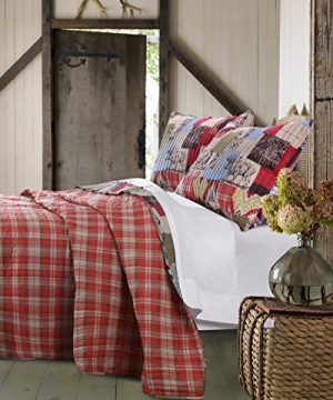 Greenland Home 2 Piece Rustic Lodge Quilt Set Twin 0 0 300x360