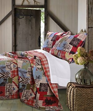 Greenland Home 2 Piece Rustic Lodge Quilt Set Twin 0 3 300x360