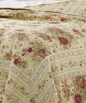 Greenland Home Antique Rose Twin Quilt Set 0 1 300x360