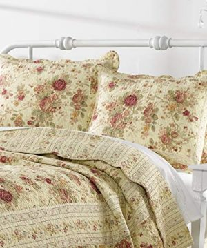 Greenland Home Antique Rose Twin Quilt Set 0 2 300x360