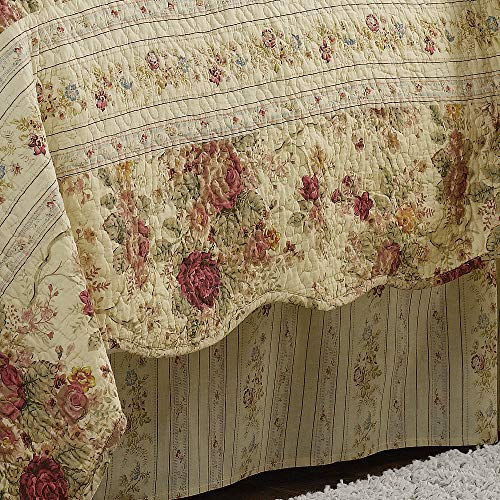 Greenland Home Antique Rose Twin Quilt Set 0 3