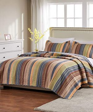Greenland Home Katy Quilt Set Twin Natural 0 0 300x360