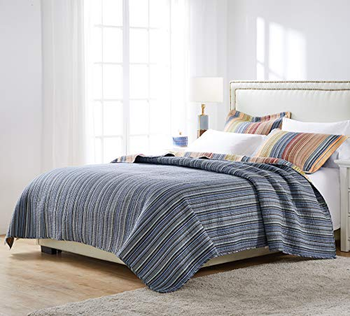 Greenland Home Katy Quilt Set Twin Natural 0 1