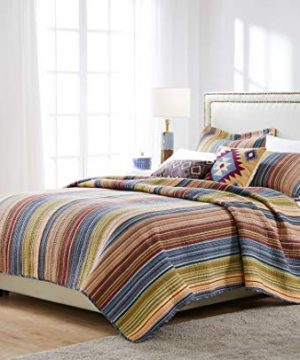 Greenland Home Katy Quilt Set Twin Natural 0 3 300x360