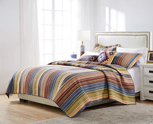 Greenland Home Katy Quilt Set Twin Natural 0 3