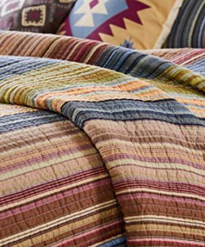Greenland Home Katy Quilt Set Twin Natural 0 4 300x360