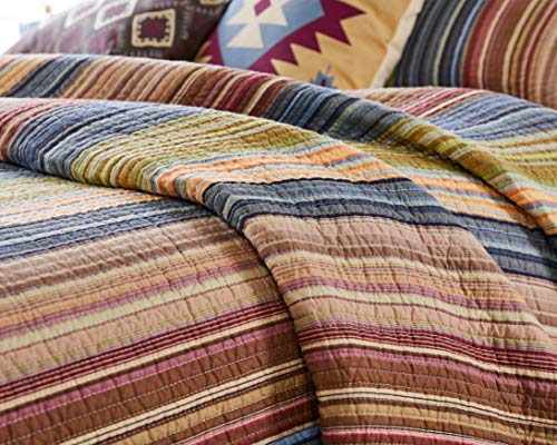 Greenland Home Katy Quilt Set Twin Natural 0 4