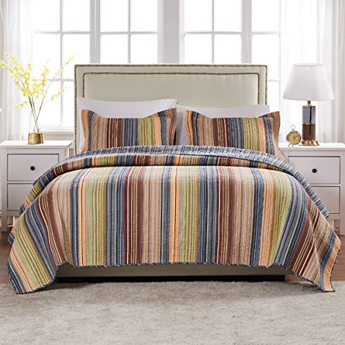 Greenland Home Katy Quilt Set Twin Natural 0