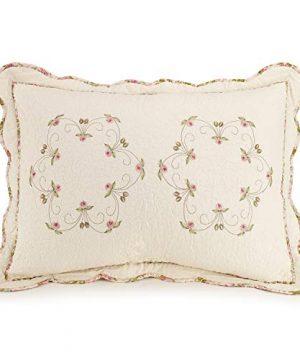 Modern Heirloom Collection Felisa Quilt Set Full Queen Pink 0 0 300x360