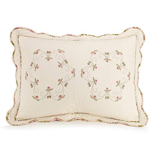 Modern Heirloom Collection Felisa Quilt Set Full Queen Pink 0 0