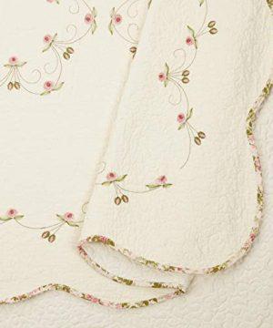 Modern Heirloom Collection Felisa Quilt Set Full Queen Pink 0 1 300x360