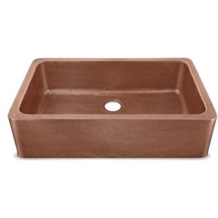 Porter+Copper+36+L+x+22+W+Farmhouse+Kitchen+Sink