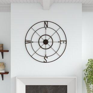 Retro+Compass+Rose+Wall+Décor