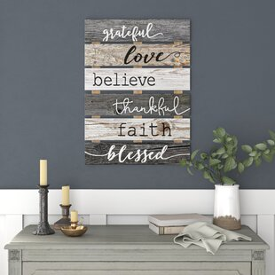 Skid+Sign+Grateful+Love+Believe+Thankful+Faith+Blessed+Wall+Décor