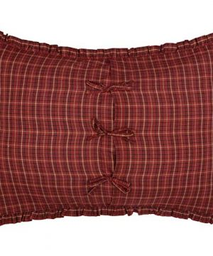 The BitLoom Co Primitive Country Star Patch Red Quilt Set 4 Piece Twin Red 0 3 300x360