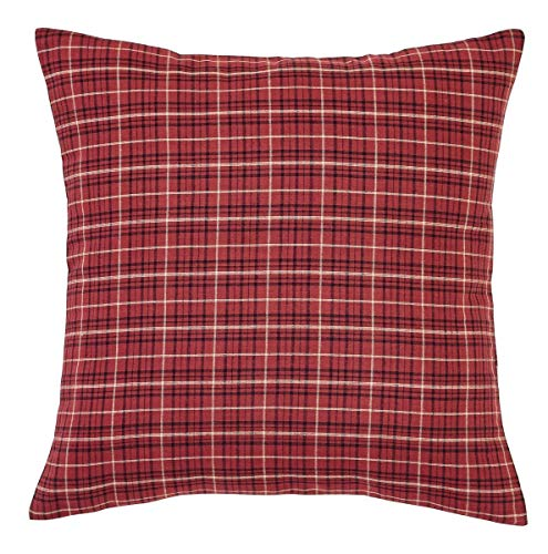 The BitLoom Co Primitive Country Star Patch Red Quilt Set 4 Piece Twin Red 0 5