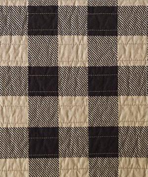 Woolrich Check Oversized Quilt Mini Set Tan FullQueen 0 1 300x360