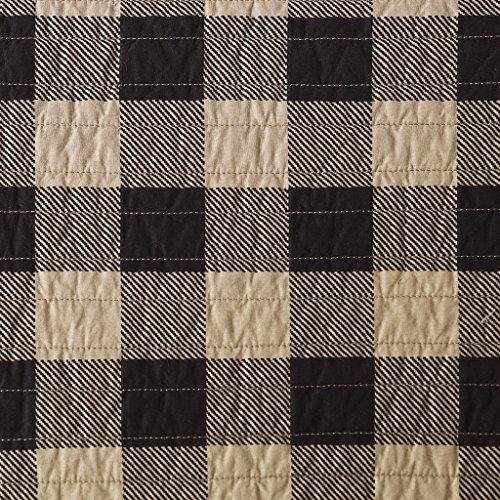 Woolrich Check Oversized Quilt Mini Set Tan FullQueen 0 1