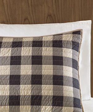 Woolrich Check Oversized Quilt Mini Set Tan FullQueen 0 2 300x360