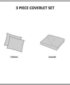 Woolrich Check Oversized Quilt Mini Set Tan KingCal King 0 300x360