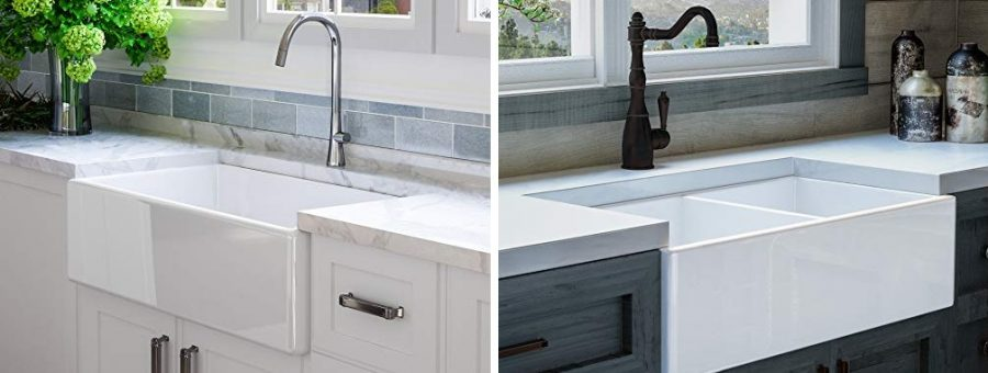 fireclay farmhouse sinks