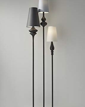 Adesso Home 3019 26 Transitional Three Light Floor Lamp From Jasmine Collection Dark Finish 700 Inches Antique Bronze 0 0 286x360