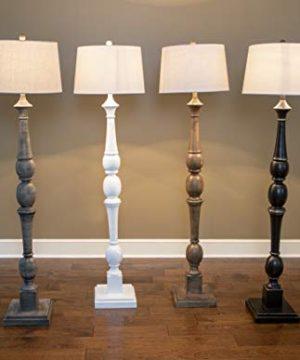 Decor Therapy PL3734 Floor Lamp Warm Grey 0 4 300x360