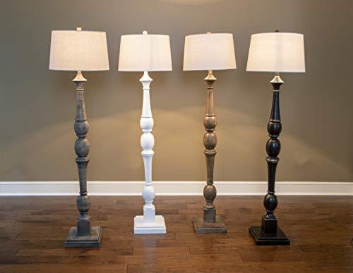 Decor Therapy PL3734 Floor Lamp Warm Grey 0 4